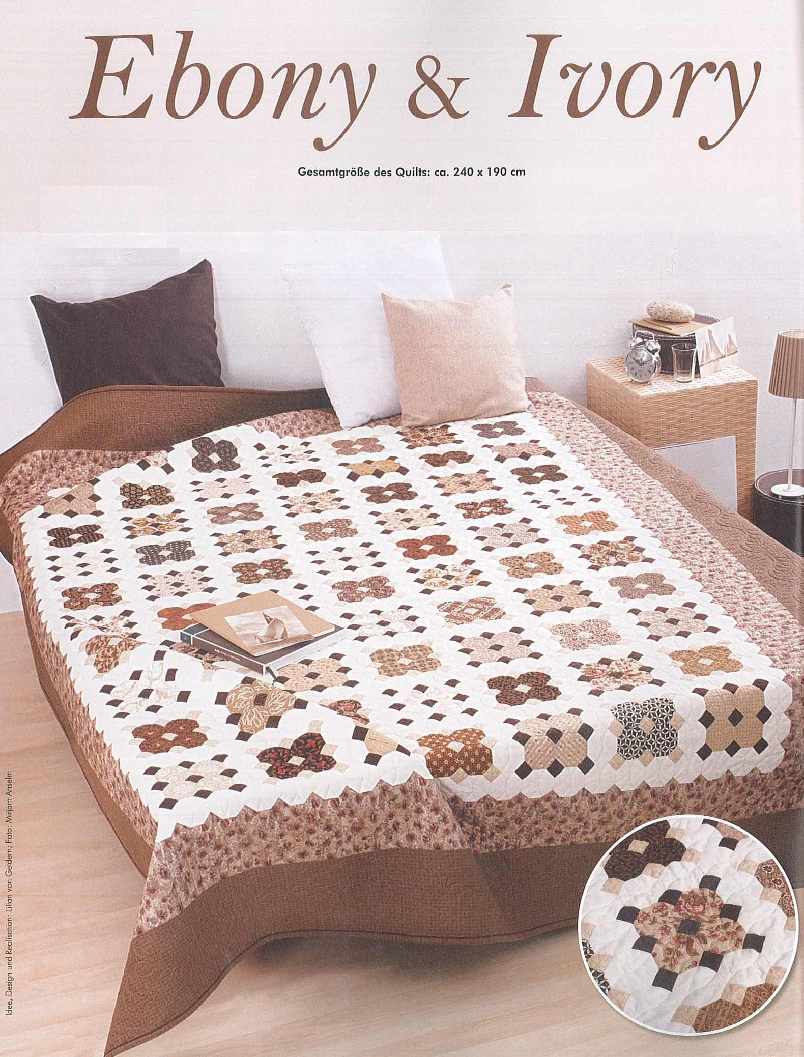 Ebony and Ivory, Patchwork Magazin 02-2015, Best of Patchwork 06