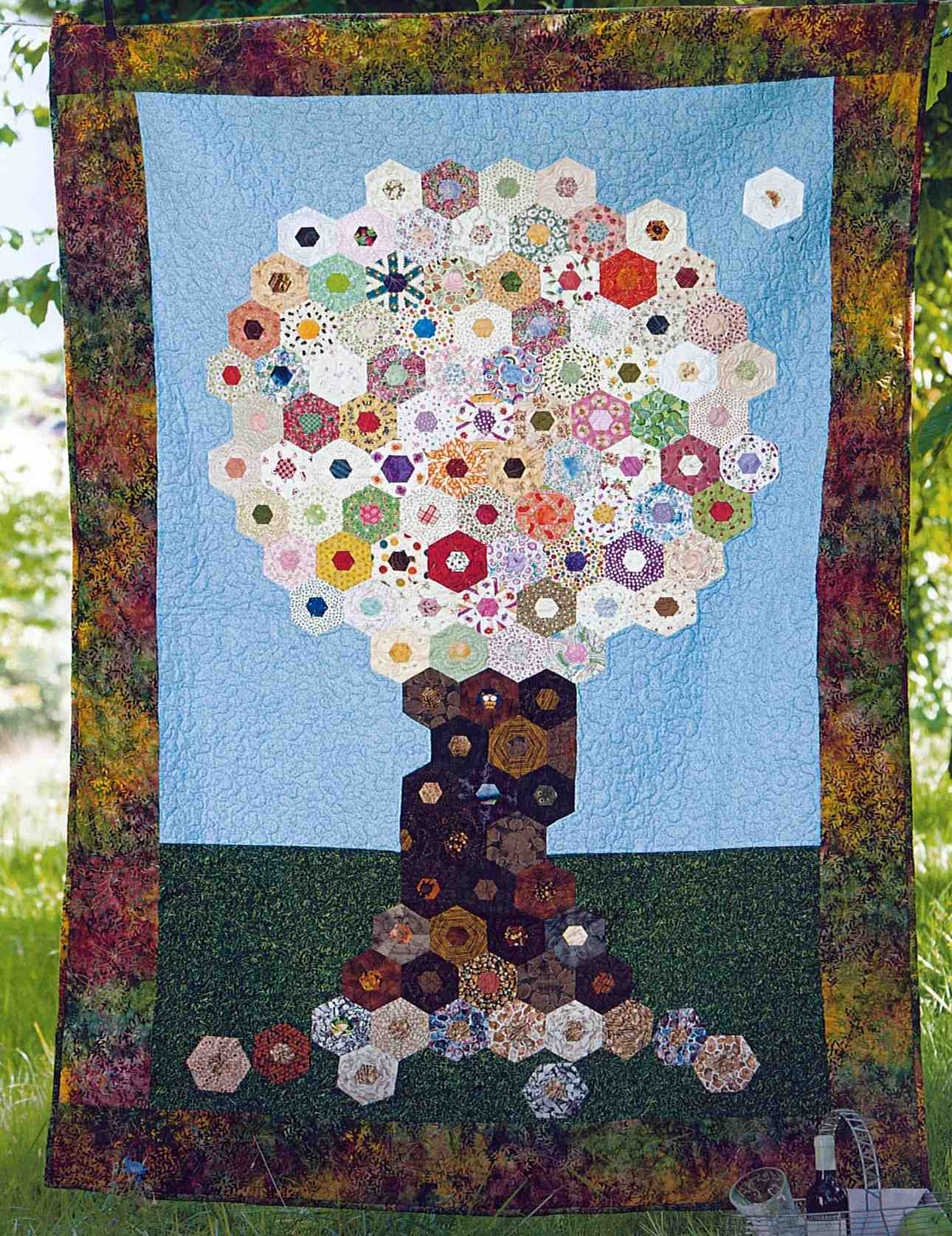 Tree in full bloom, LENAs Patchwork Nr. 24 2013