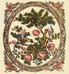 Vintage Chintz-Medallion