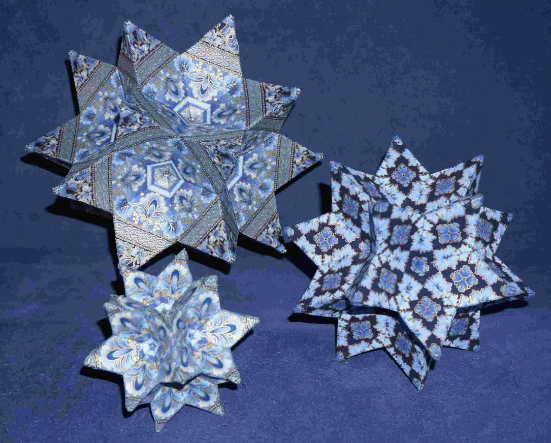 3D Kaleidoscope Stars - Anleitung