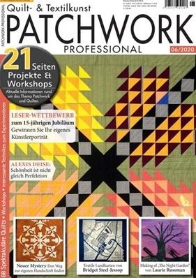 Patchwork Professional Magazin - Ausgabe 06/2020 - BURGUNDY