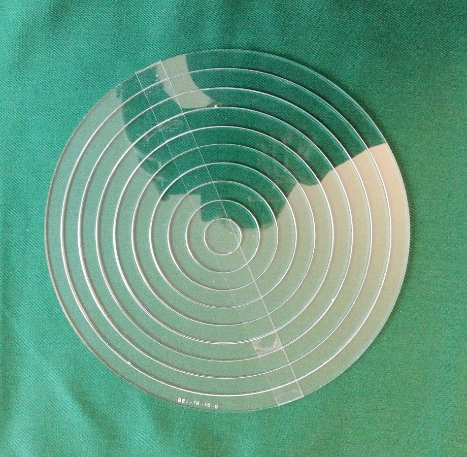 Set Acrylschablonen Circle, Pretty & Useful Kreis 10-fach