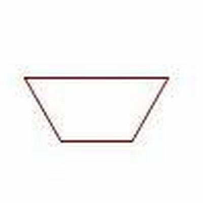 Paper Pieces Halb-Hexagon, Pretty & Useful halbes Sechseck