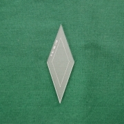 Acrylschablone Diamond, Pretty & Useful Raute 36°