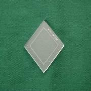 Acrylschablone Diamond, Pretty & Useful Raute 72°