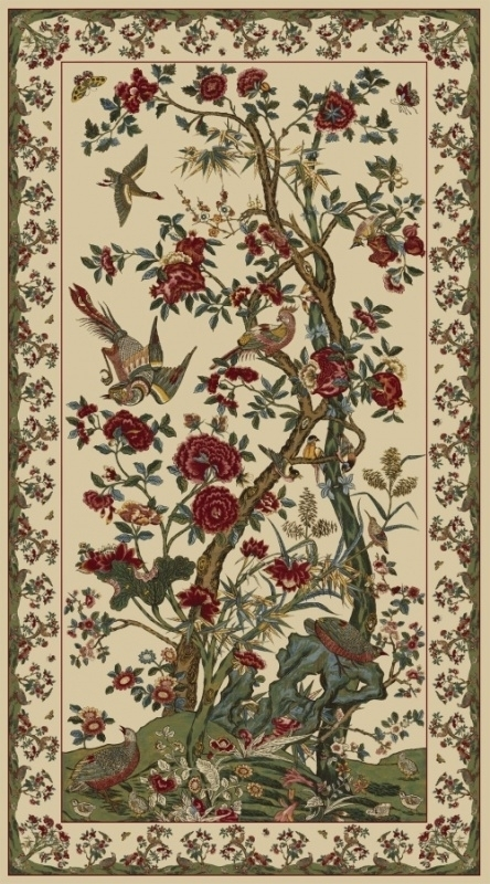 Medallion / Panel von Windham Palampore - Tree of Life