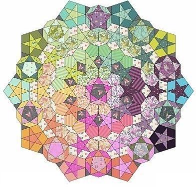 Paper Pieces zu Tula Nova - Komplettset