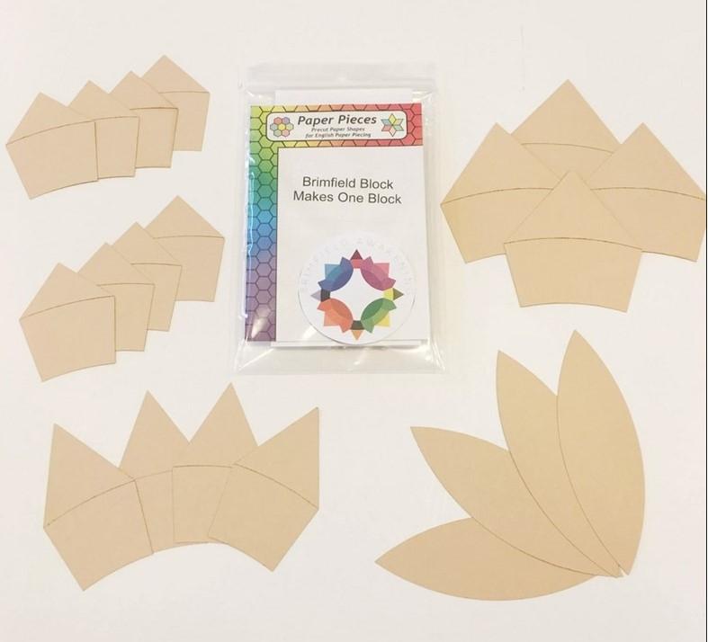 Paper Pieces zum Block Brimfield Awakening (1 Block) ohne Kern, Durchmesser ca 35 cm