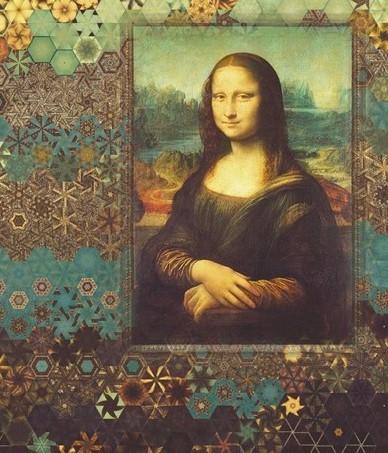 Stoffpaket: 7 Panels Mona Lisa von Robert Kaufman