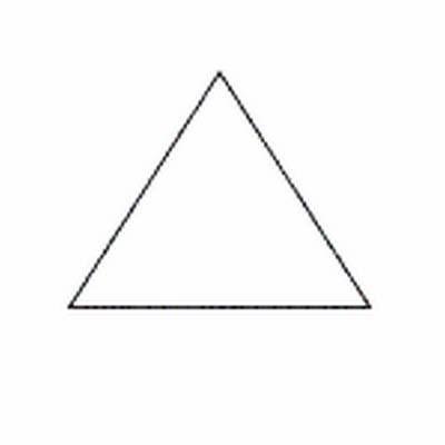 Paper Pieces, Pretty & Useful gleichseitiges Dreieck
