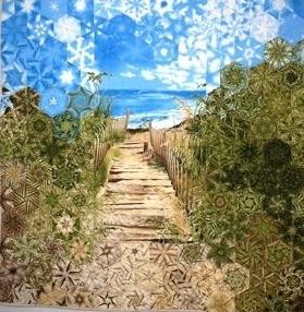 Stoffpaket: 7 Panels Beach Haven von Timeless Treasures