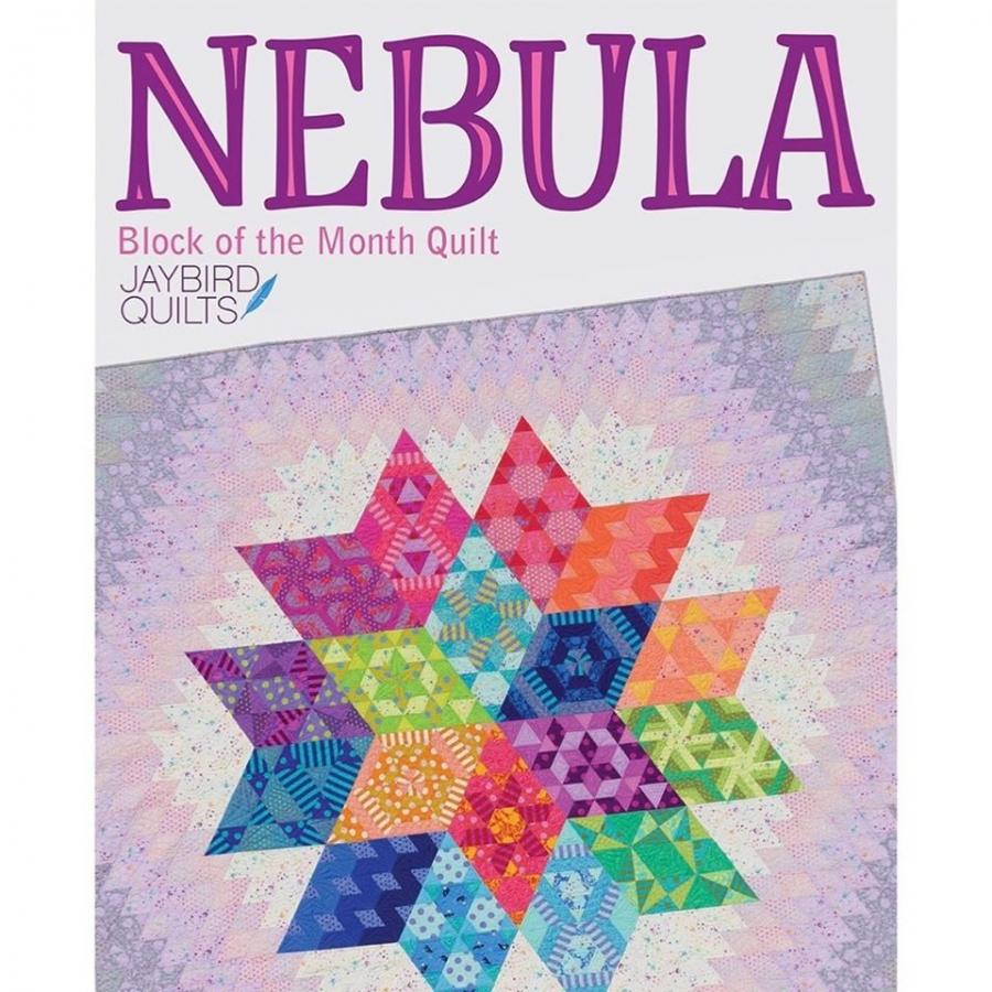 Stoffpaket für Tula Pink - NEBULA - Quilttop Queen Size (ca. 246 x 243 cm)