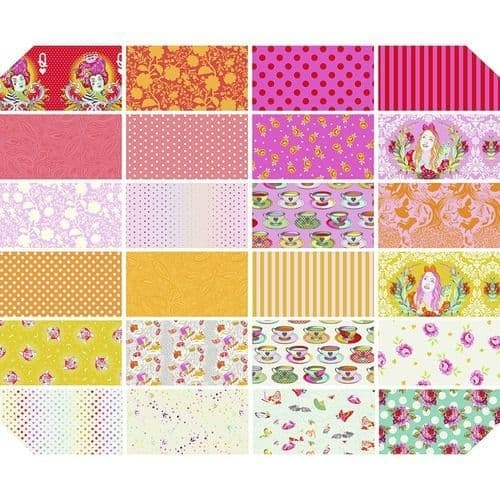 Fat Quarter Package (24 FQ) Tula Pink - Curiouser I