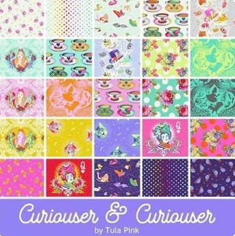 Fat Quarter Package (24 FQ) Tula Pink - Curiouser II