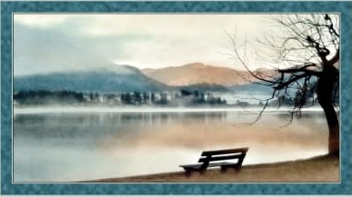 Panel Lake Panel blue von Artworks
