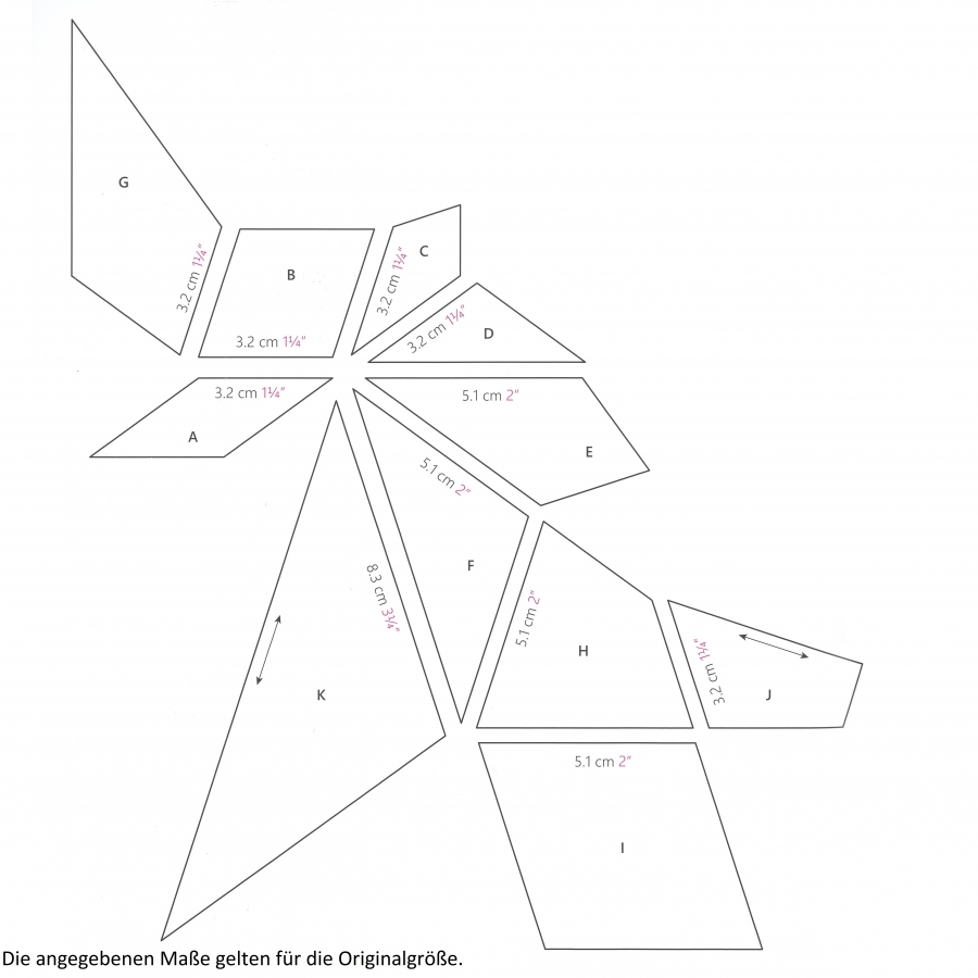 Acrylschablonenset Allegria 11-teilig aus Millefiori 4