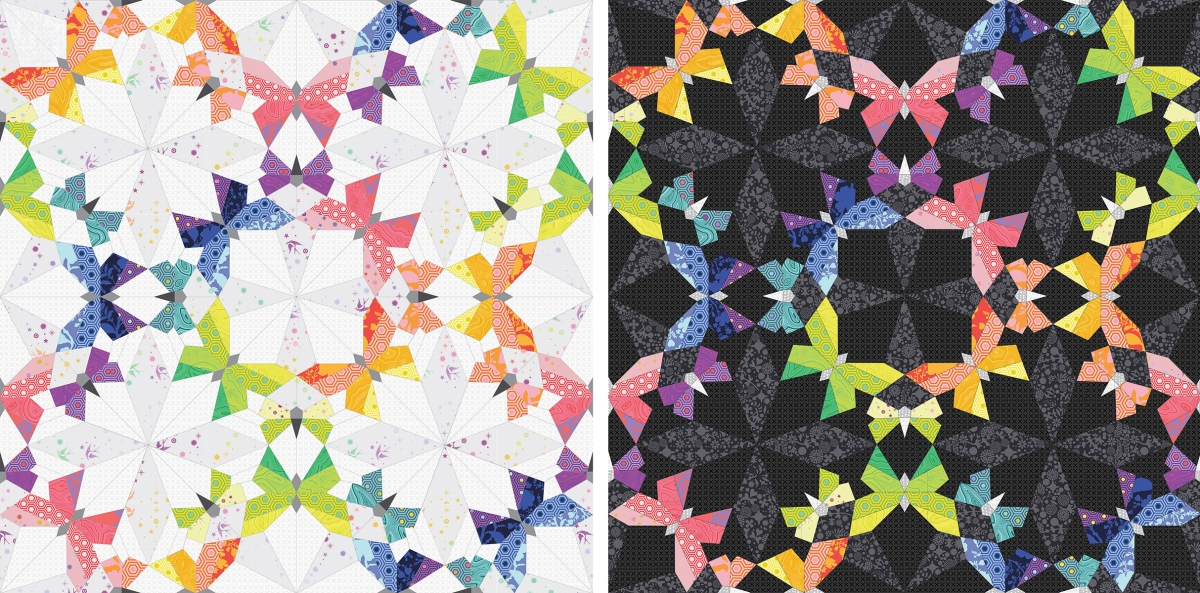 Komplettset Paper Pieces zu BUTTERFLY EFFECT