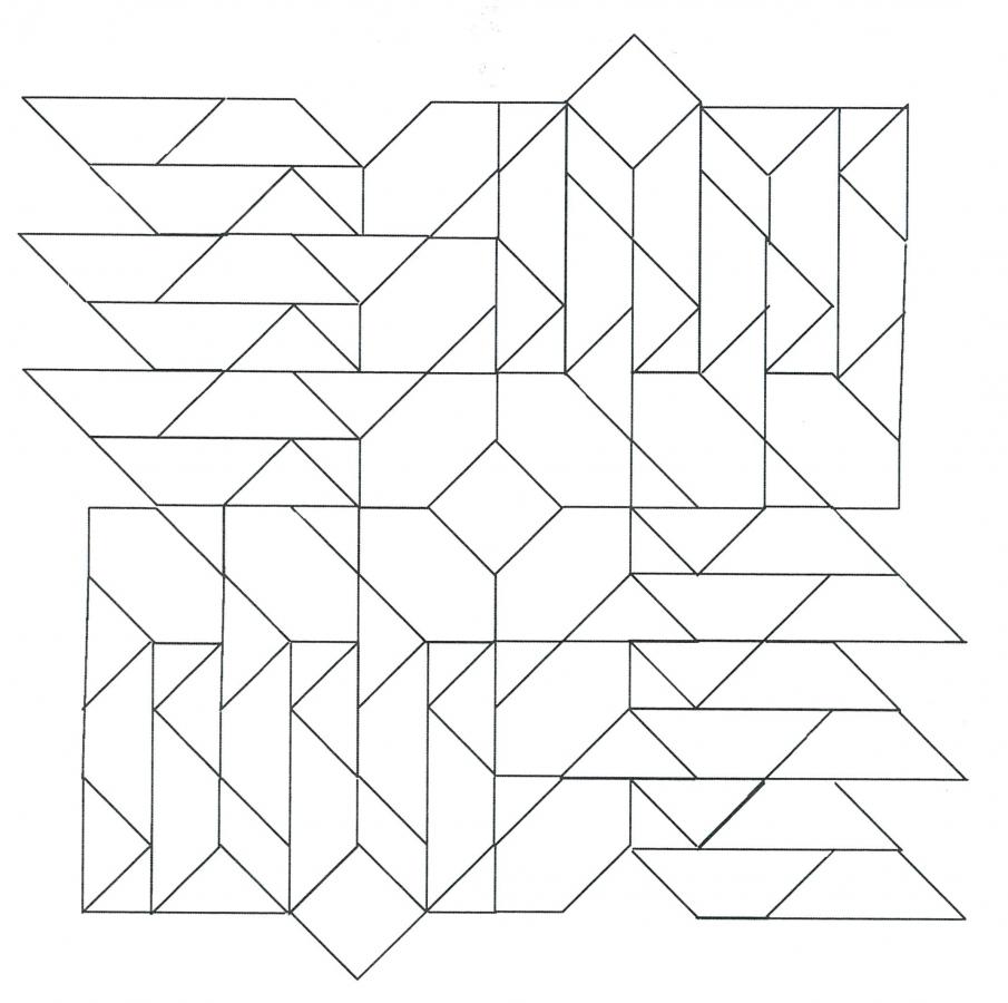 Paper Pieces für Pretty & Useful Seraina, 1 Block