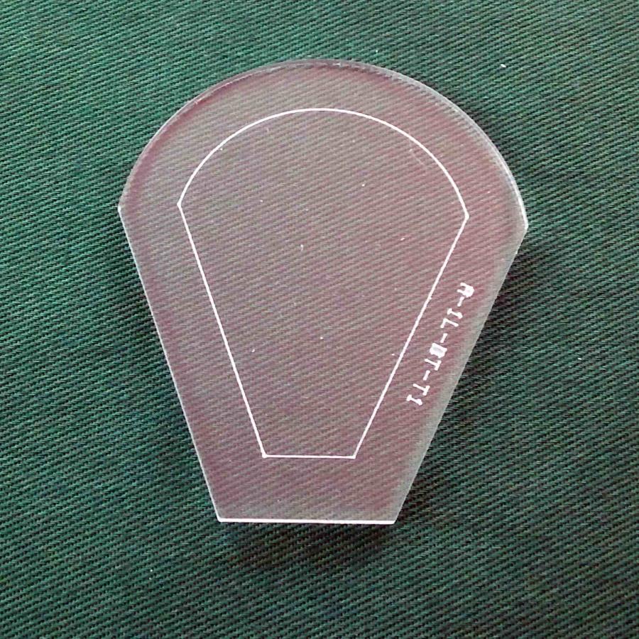 Acrylschablone Dresdner Teller
