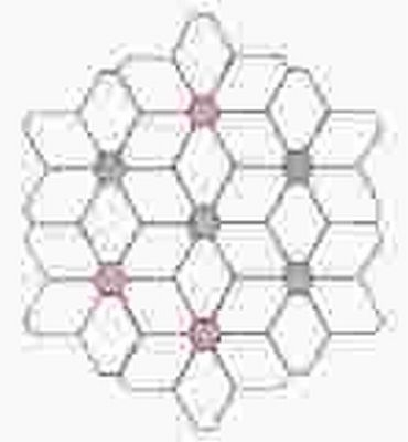 Paper Pieces 4-er Auge und Hexagon für Blütendurchmesser 35 cm