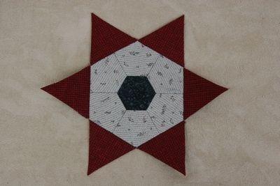 Paper Pieces Dreieck Liesels Fünfeck