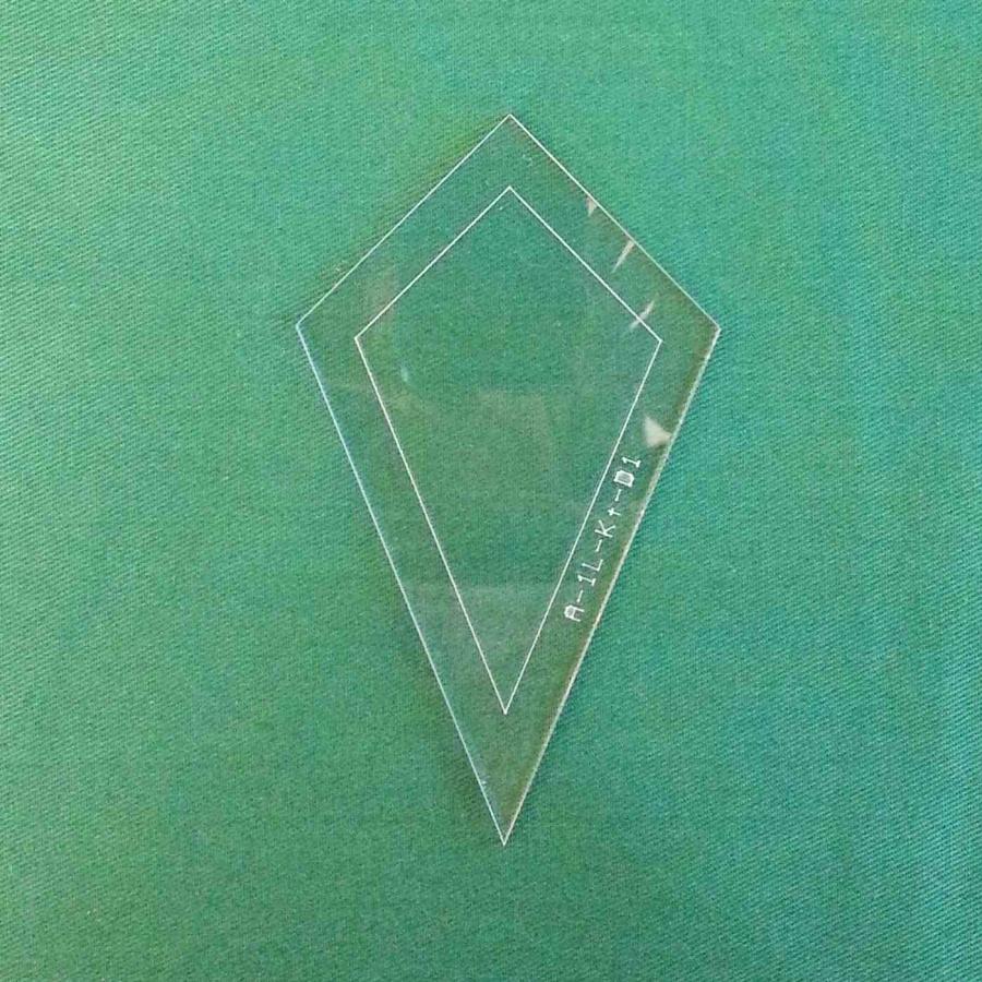 Acrylschablone Zauberhafte Lieseleien Drache D1