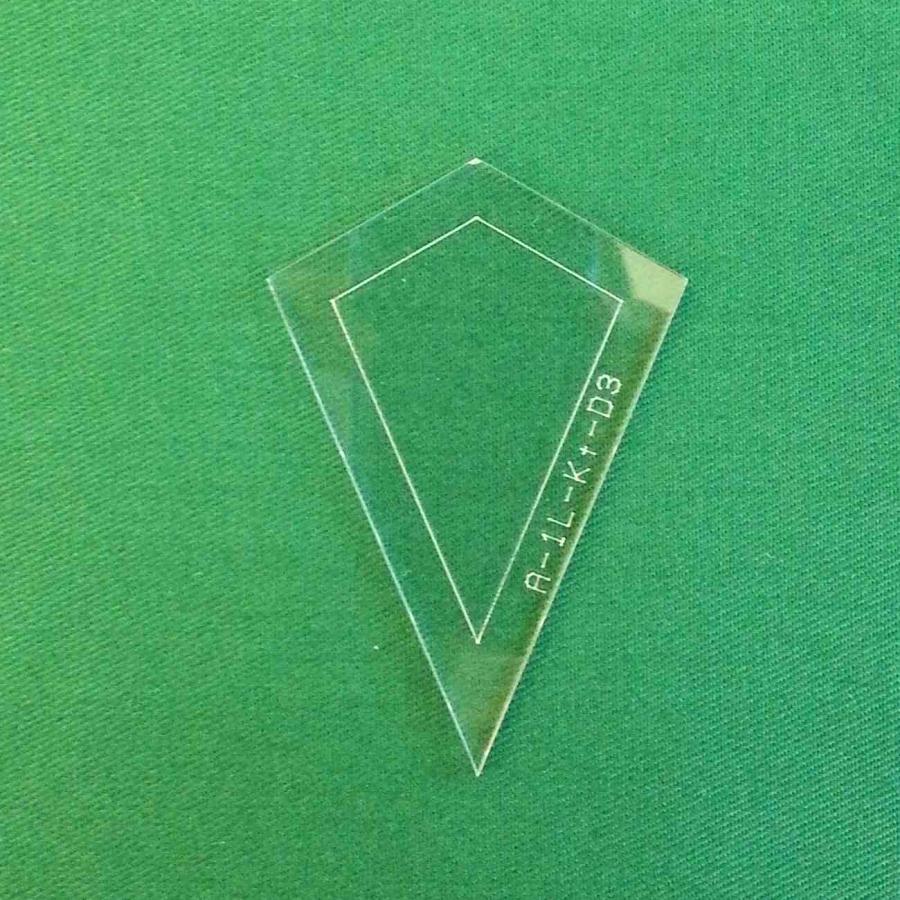 Acrylschablone Zauberhafte Lieseleien Drache D3
