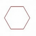 Paper Pieces Hexagon, Pretty & Useful Sechseck
