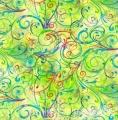Hoffman Forest Friends - Lime, Digitaldruck