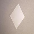 Kunststoff - Pieces Diamond, Raute 60° für 6-strahligen Stern