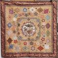 Komplettsatz Paper Pieces für den Quilt Memories of Asia, ganzer Quilt