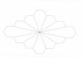 Kunststoff-Pieces Dodecagon, 3 Blocks