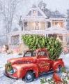 Panel Christmas Delivery Digitaldruck Paneel von Riley Blake - P10743R-DELIV