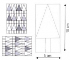 Acrylschablonenset Fir or Arrow? (4-teilig, als Rahmen)