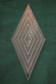 Set Acrylschablonen Diamond, Raute 45°, 5-fach, für 8-strahligen
