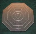 Set Acrylschablonen Octagon, Pretty & Useful Achteck 6-fach