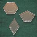 Acrylschablonen-Set Liesels Fünfeck
