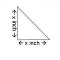 Paper Pieces Square, Pretty & Useful Half Square Triangle